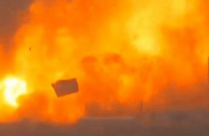 Nguyên mẫu Starship của SpaceX vừa nổ tung như một quả cầu lửa