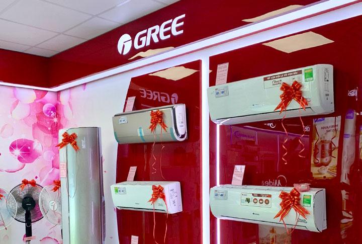 Gree mở rộng mạng lưới phân phối ở thị trường miền Bắc