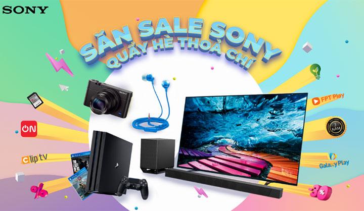 Sony Việt Nam tặng tiền điện và giảm giá TV, máy ảnh và máy chơi game dịp hè
