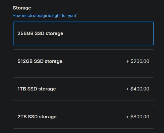 Vì sao bạn không nên mua một chiếc MacBook chỉ có ổ cứng 256GB?