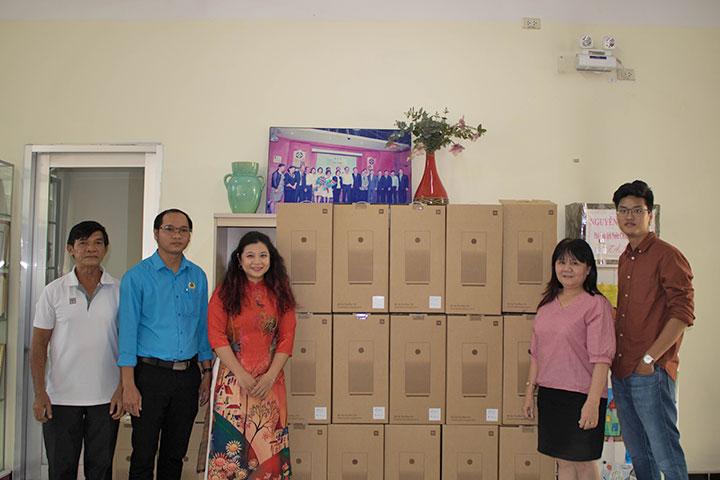 Xiaomi Việt Nam tặng 50 máy lọc không khí cho trường mầm non ở TP.HCM