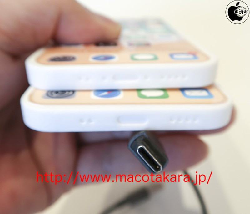 Một mô hình iPhone 13 gợi ý thiết bị này sẽ có thiết kế không tai thỏ và sử dụng cổng USB-C