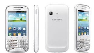 Samsung Galaxy Chat QWERTY dùng ICS đầu tiên