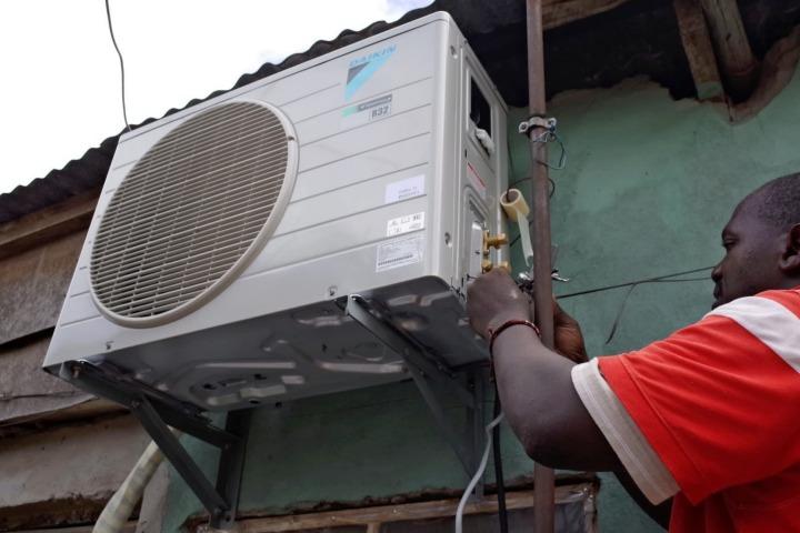 Daikin mở dịch vụ cho thuê điều hòa ở châu Phi, giá 1,2 USD mỗi ngày