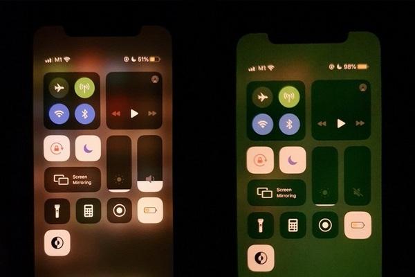 Nhiều người dùng iPhone 11 phàn nàn tông màu xanh lá bất thường trên màn hình