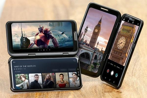 Màn hình phụ kết nối không dây với màn hình chính của LG V50 như thế nào?