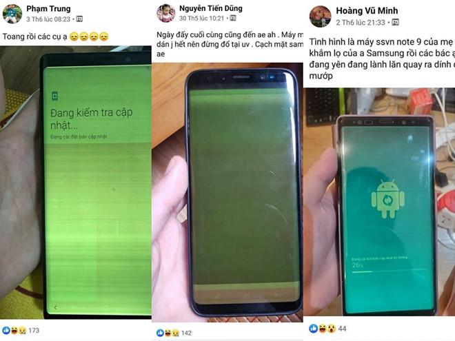 Lỗi màn hình mới trên Samsung Galaxy gây hoang mang người dùng