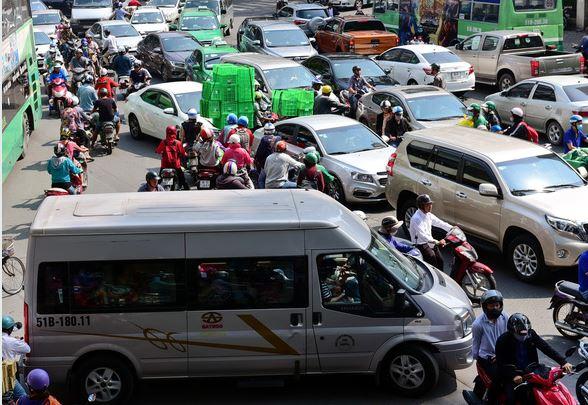 Dự luật giao thông quy định: tài xế đi vào giao lộ lúc kẹt xe có thể bị phạt