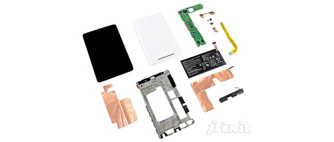 """""""Mổ"""" để xem """"nội thất"""" Google Nexus 7"""