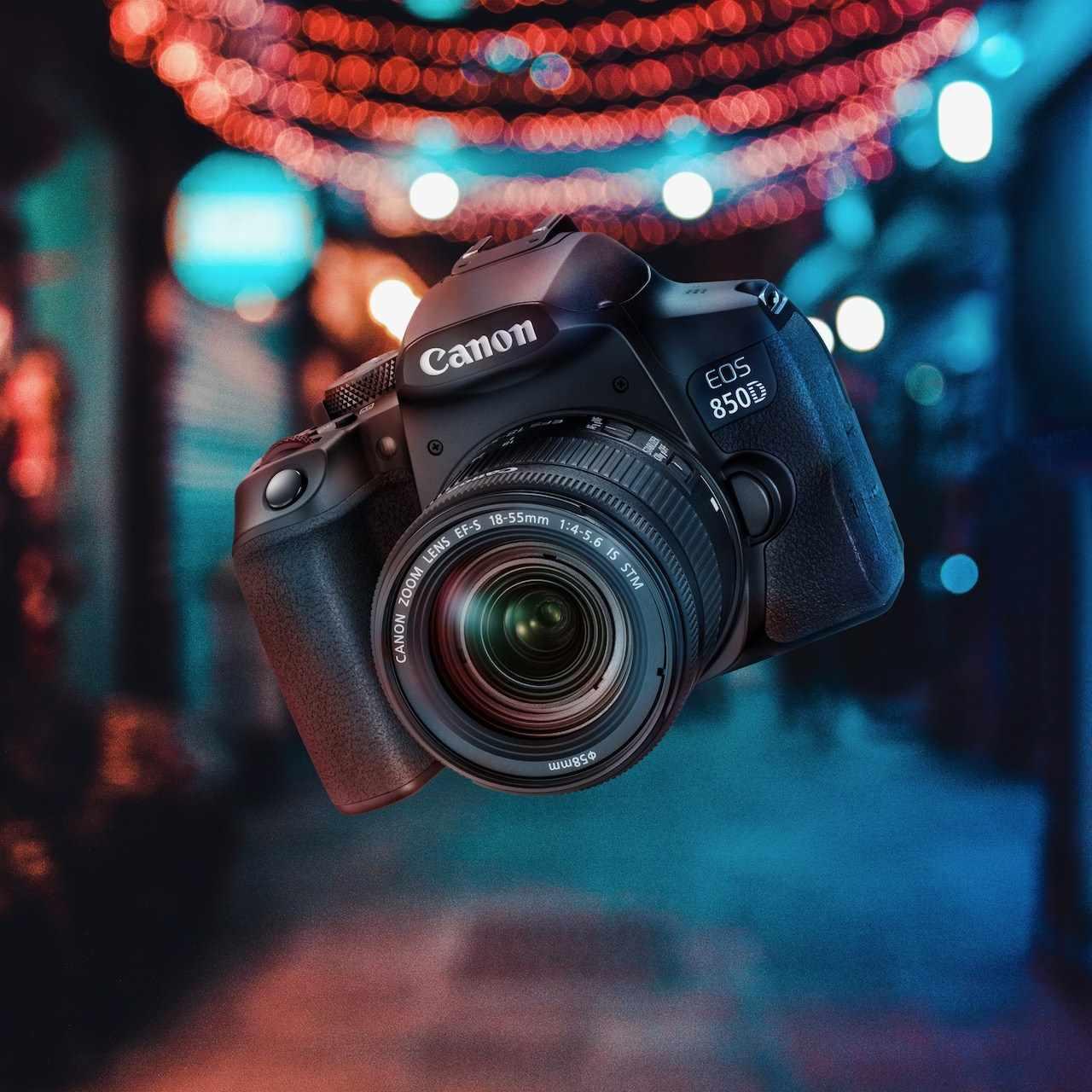 Canon EOS 850D ra mắt tại Việt Nam: lấy nét theo mắt Eye AF, hỗ trợ quay video dọc dạng TikTok, giá 29,5 triệu đồng