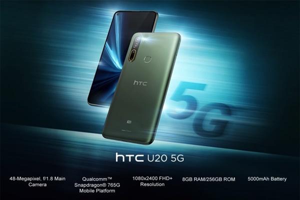 HTC bất ngờ ra mắt 2 smartphone mới U20 5G và Desire 20 Pro: 4 camera sau, pin 5000 mAh