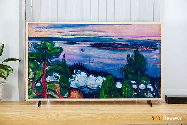 Trên tay Samsung The Frame 2020: Khi TV còn là tác phẩm nghệ thuật