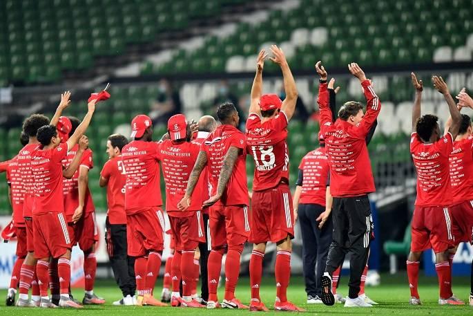 Bayern Munich vô địch Bundesliga trước 2 vòng đấu