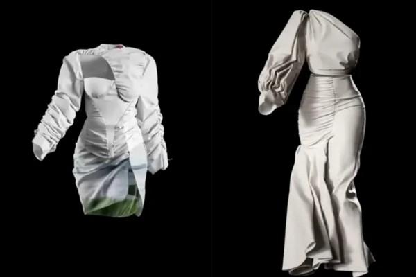 Mãn nhãn với màn trình diễn bộ sưu tập thời trang 3D không cần tới người mẫu