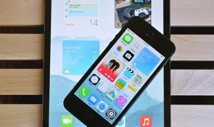 Nhìn màn hình home mới của iOS 14, bạn có còn nhớ những ô Live Tiles sắc màu của Windows Phone?