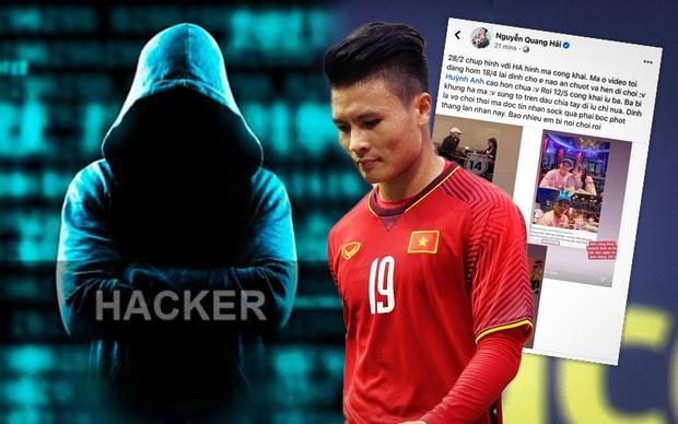 Quang Hải bị hack facebook