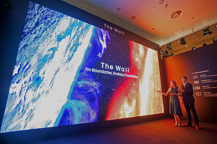 Samsung ra mắt màn hình ghép The Wall kích cỡ tới 583 inch tại Việt Nam