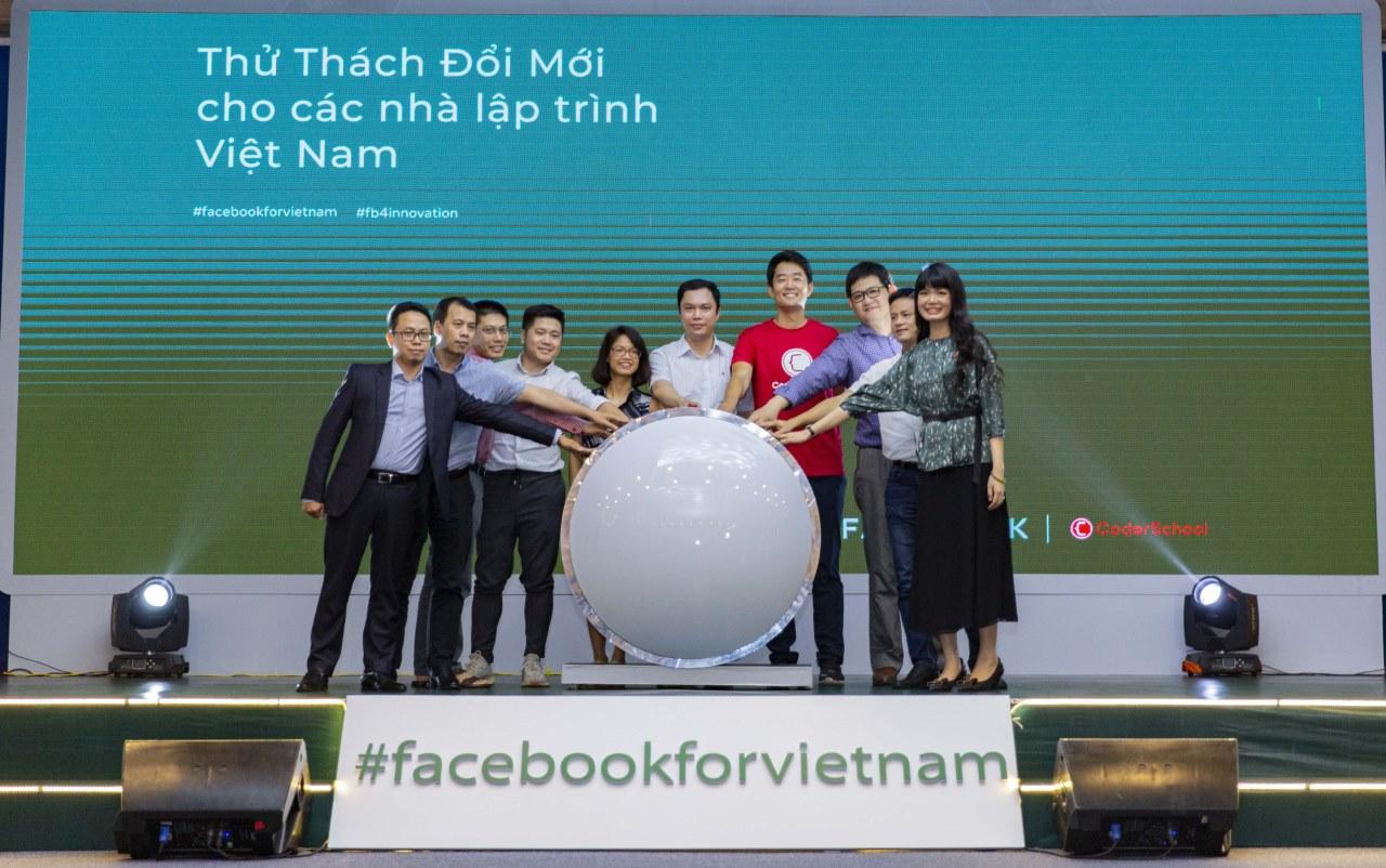 """Facebook mang """"Thử thách Đổi mới cho các nhà lập trình Việt Nam"""" tới Hà Nội, mở cơ hội cho hơn 300 sinh viên"""