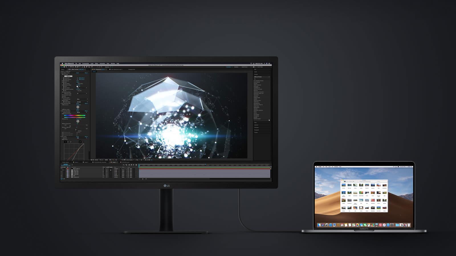 Tại sao ngày càng nhiều màn hình sử dụng USB-C