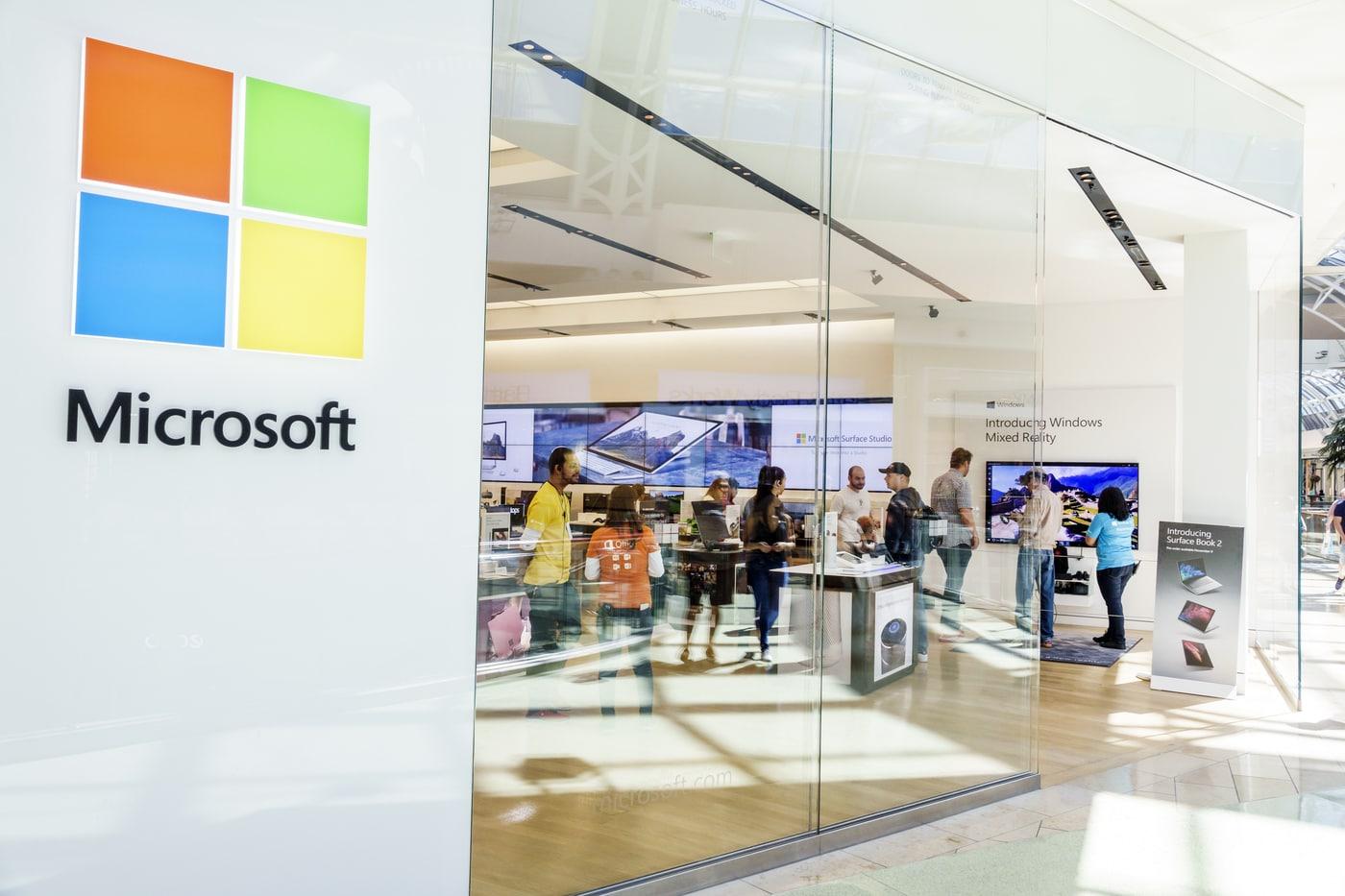 Microsoft sẽ đóng cửa vĩnh viễn hệ thống các cửa hàng bán lẻ