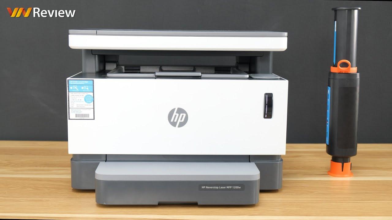 """Trải nghiệm máy in HP Laser Neverstop 1200w: đổ mực chưa bao giờ """"easy"""" như vậy"""