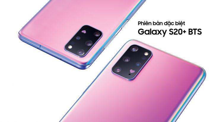 Samsung bán ra phiên bản Galaxy S20+ BTS ở Việt Nam, giá 24,99 triệu đồng