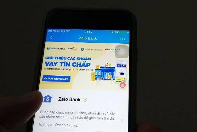 """Zalo Bank - """"ngân hàng"""" không có tiền, không được cấp phép những vẫn cho vay tiền"""