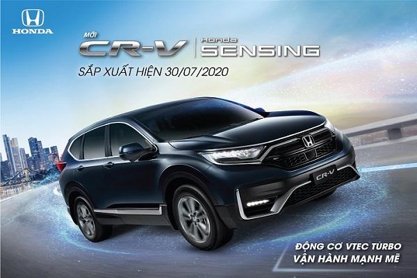 Honda CR-V 2020 sẽ ra mắt vào ngày 30/7, 3 phiên bản, lắp ráp tại Việt Nam