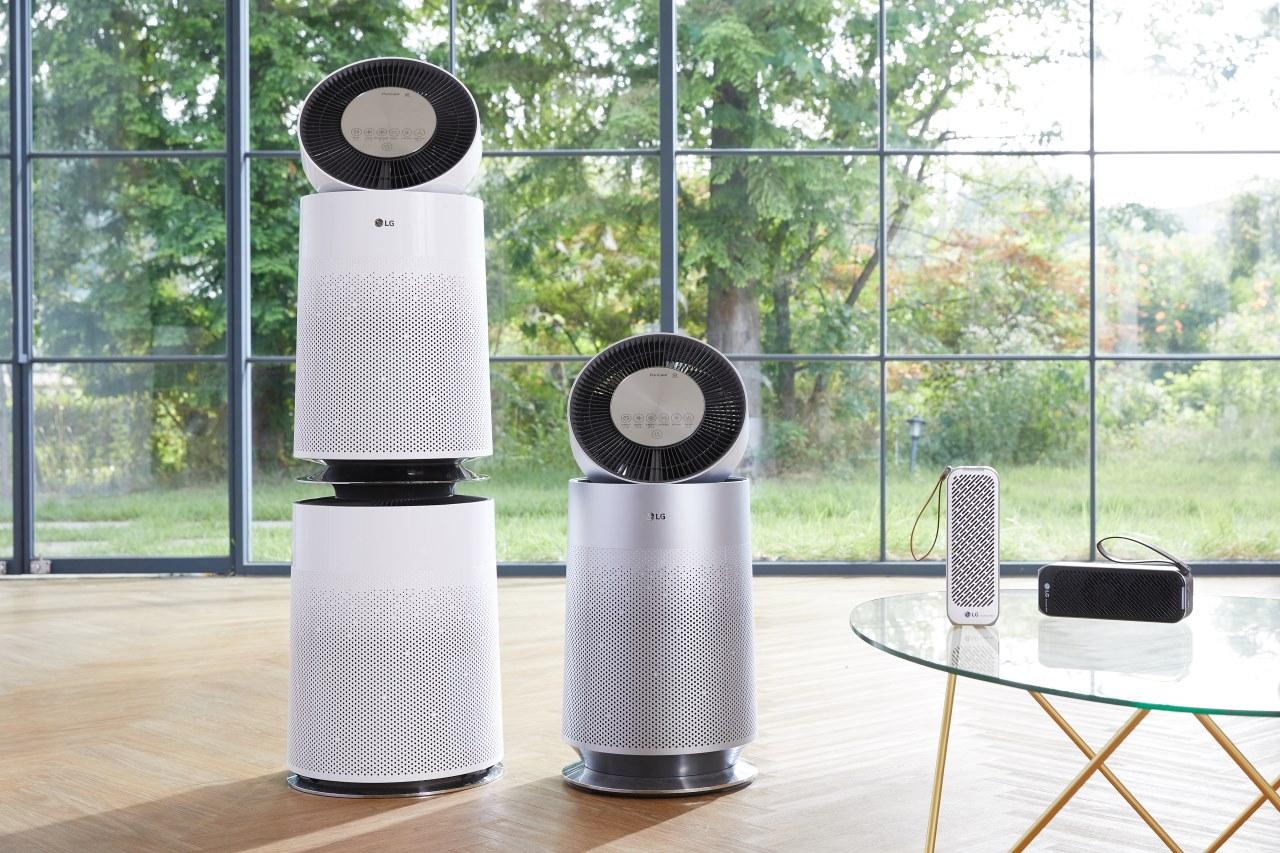 LG ra mắt loạt điều hòa và máy lọc không khí tại Việt Nam, lọc được bụi mịn PM1.0, có loại nhỏ chỉ ngang chai nước
