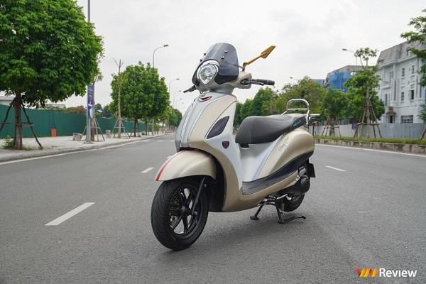 Yamaha Grande độ 100 triệu đồng đầu tiên tại Hà Nội