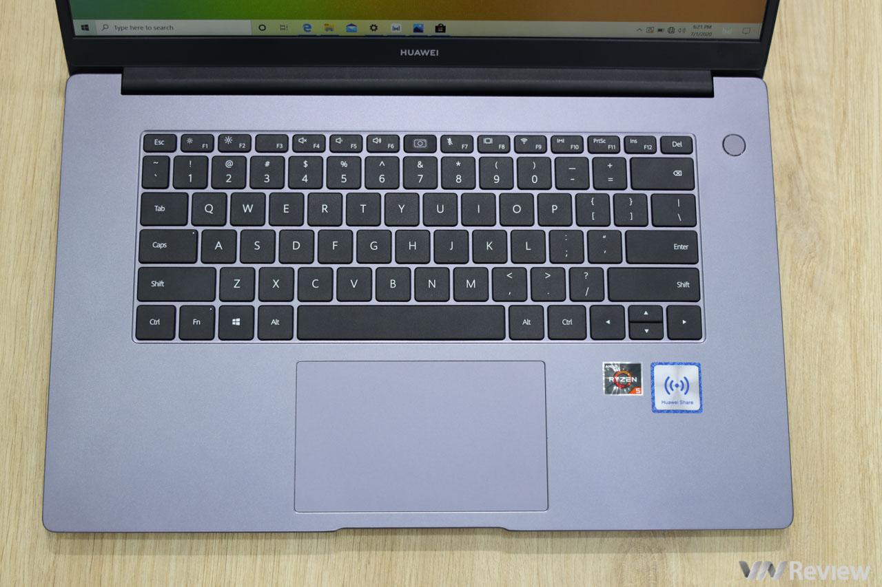 Đánh giá Huawei MateBook D 15: tân binh đáng gờm với nhiều vũ khí độc lạ