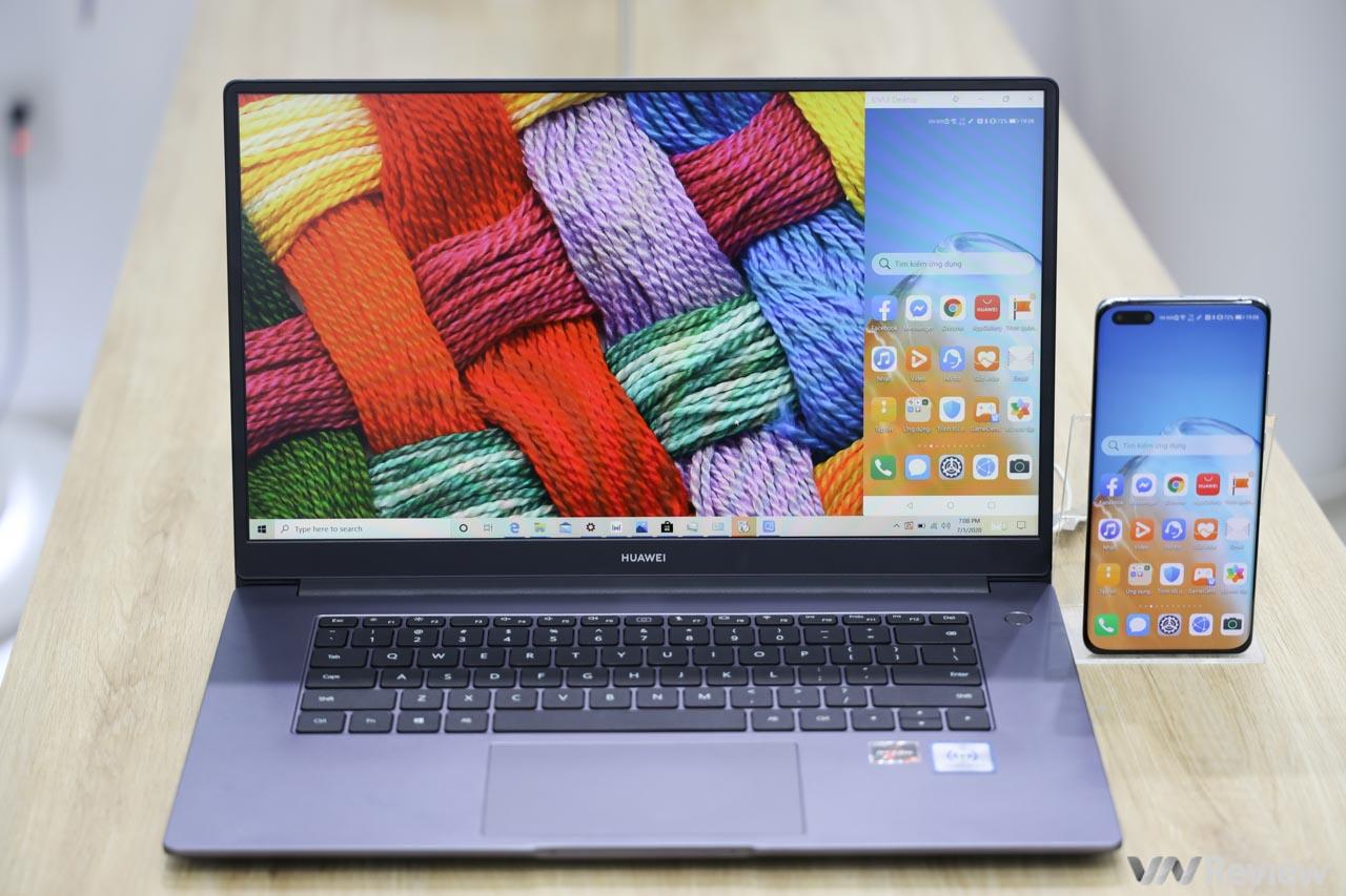 Trên tay Huawei MateBook D 15