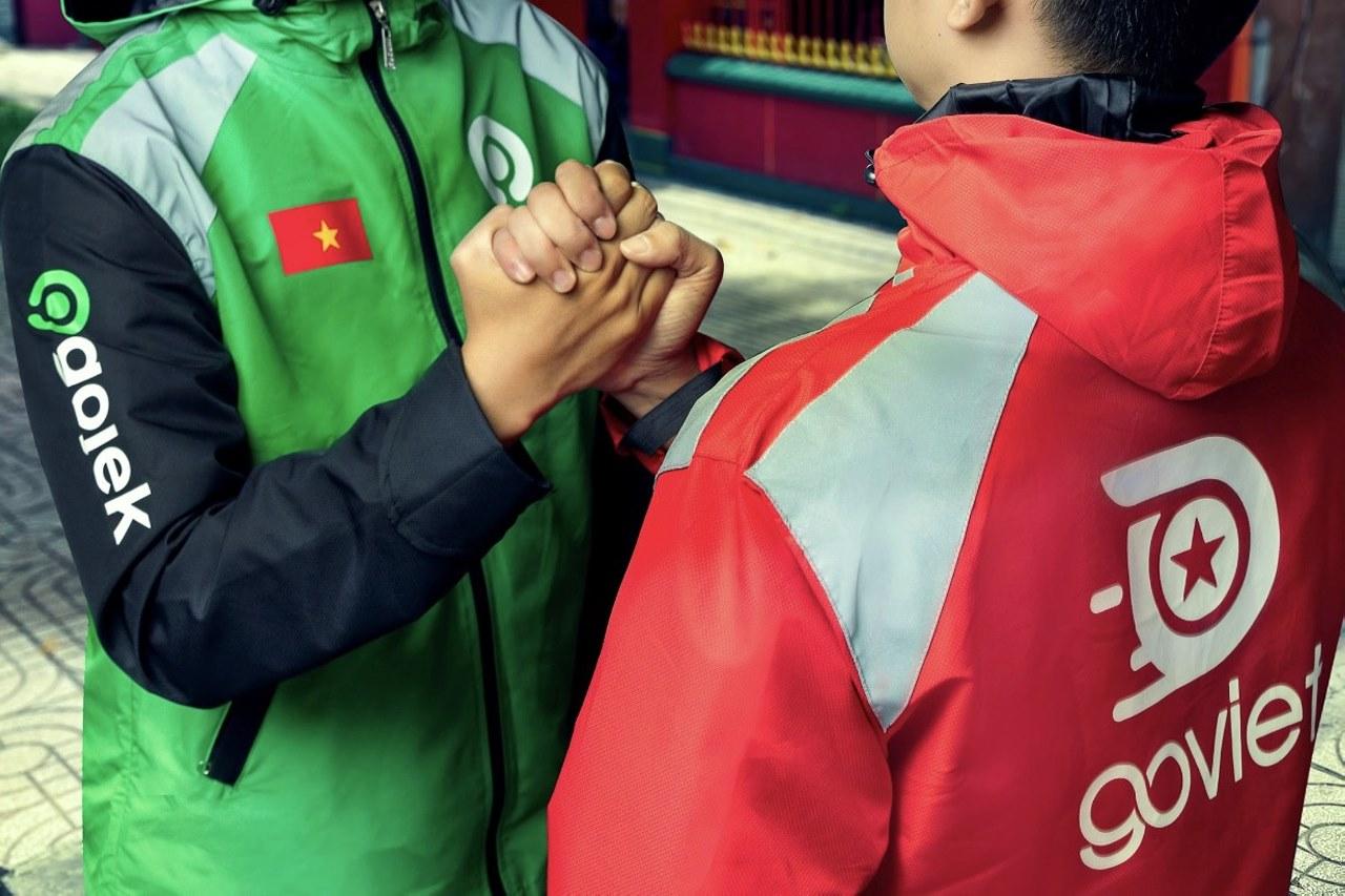 GoViet sẽ đổi tên thành Gojek, chuyển từ đồng phục đỏ sang xanh lá