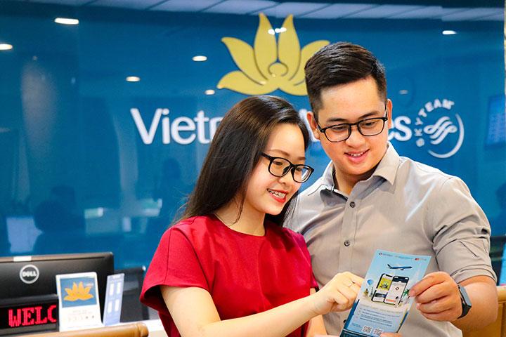 Vietnam Airlines cho mua vé máy bay trả góp 0% qua Ngân Lượng
