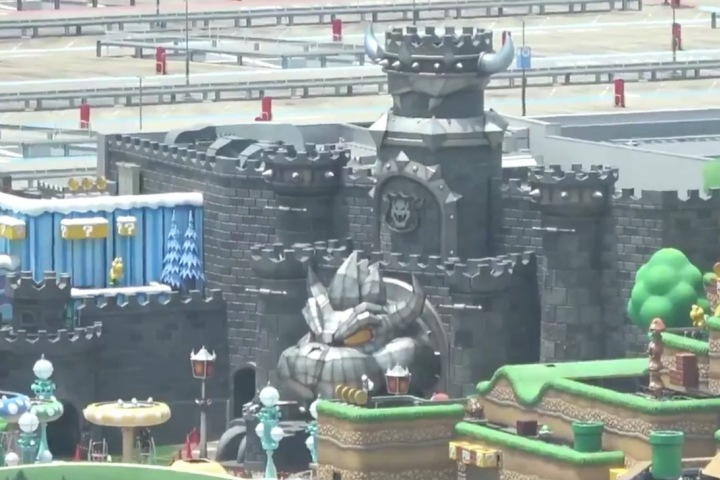 Công viên Super Nintendo World ở Nhật Bản trông như một màn chơi Mario ngoài đời thực