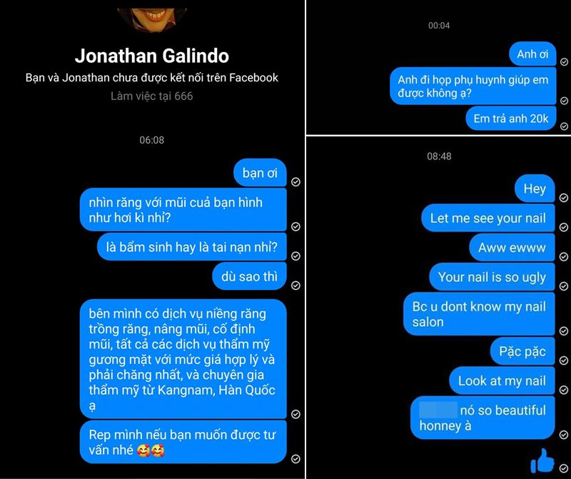Jonathan Galindo là ai cũng không thể dọa được cư dân mạng Việt