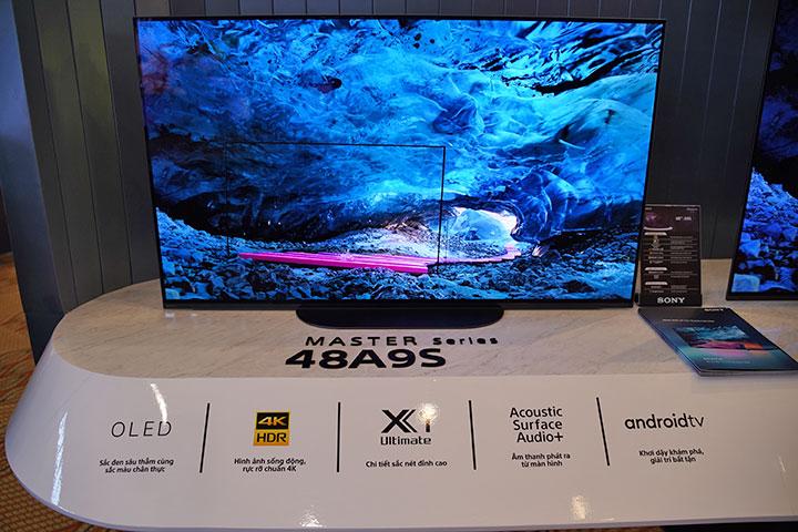 Sony ra mắt TV OLED nhỏ nhất ở thị trường Việt Nam
