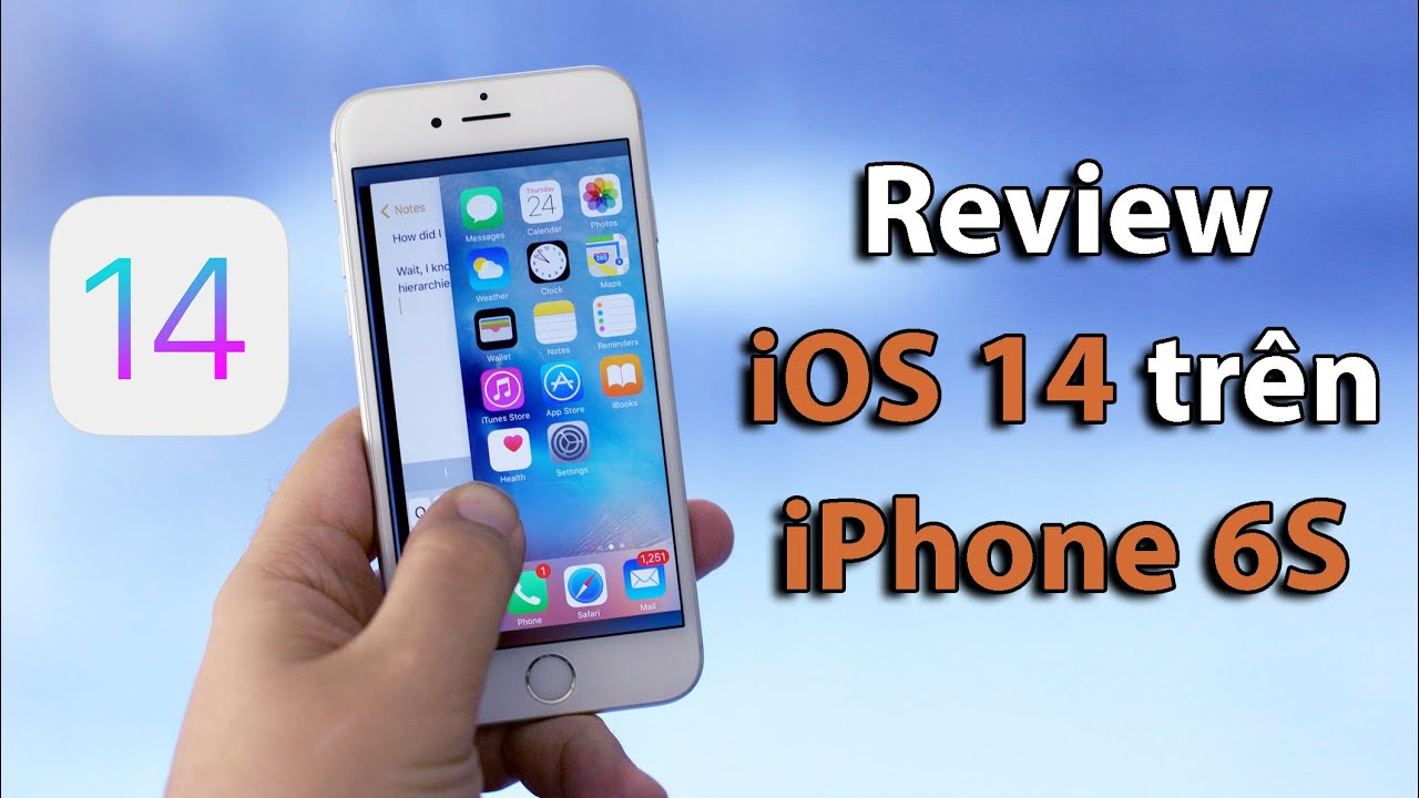 """Trải nghiệm iOS 14 Beta trên iPhone 6S: Liệu hiệu năng và pin có bị """"thọt""""?"""