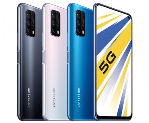 Vivo iQOO Z1x 5G pin 5.000 mAh, giá từ 5,3 triệu đồng tại Trung Quốc