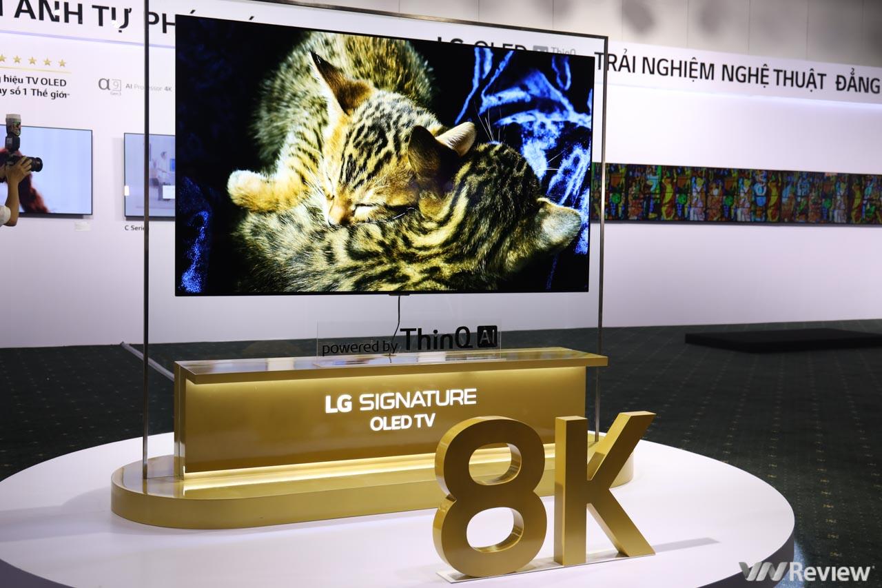 """LG ra mắt TV OLED 8K 77 inch và 88 inch tại Việt Nam, bản """"max option"""" gần 700 triệu đồng"""