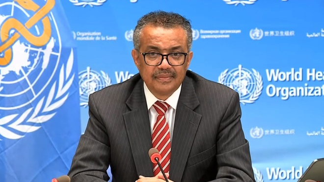 Tổng giám đốc WHO khóc và kêu gọi chống Covid-19 sau khi Mỹ ra đi