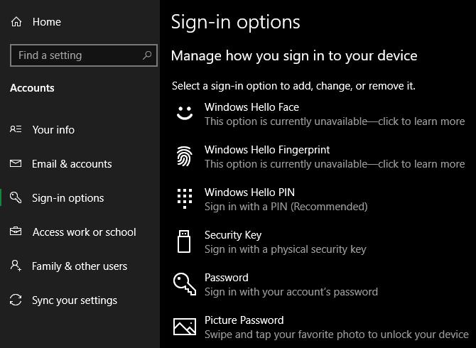 Sử dụng PIN hay password an toàn hơn trên Windows 10? 2