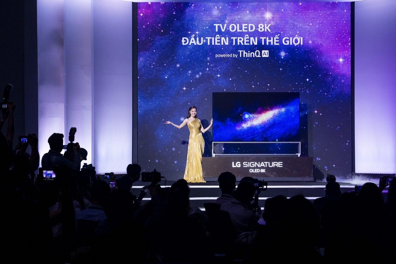 LG Việt Nam đấu giá TV OLED 8K 88 inch, dành tặng 1,5 tỷ đồng cho tổ chức
