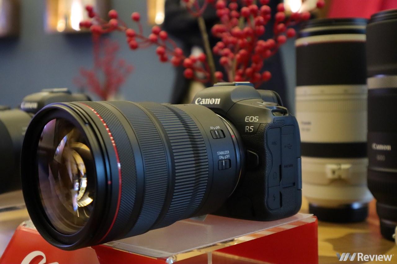 Canon ra mắt R5 và R6 tại Việt Nam: máy ảnh đầu tiên quay phim 8K RAW, giá lần lượt 120 triệu và 78 triệu đồng