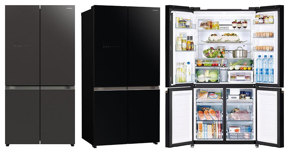Hitachi ra mắt tủ lạnh 4 cửa R-WB640VGVO với ngăn chân không độc đáo