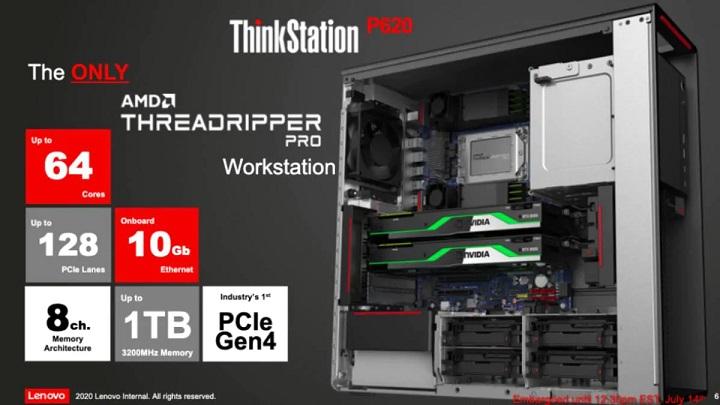 AMD trình làng dòng chip Ryzen Threadripper Pro cho Workstation