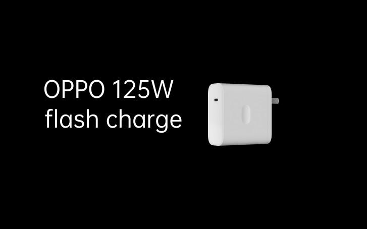 Oppo giới thiệu sạc nhanh 125W sạc smartphone trong 20 phút