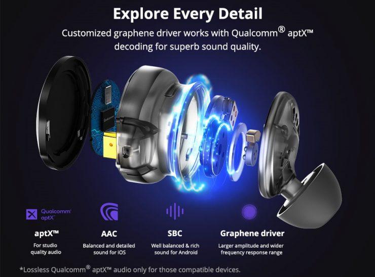 Tronsmart ra mắt tai nghe true wireless Apollo Bold: Dưới 100 USD có chống ồn chủ động, dùng chip flagship mới của Qualcomm