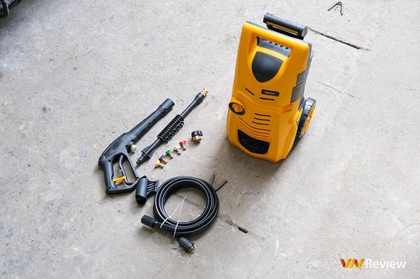Trải nghiệm máy phun áp lực nước WestForce 2800 PSI: Rửa xe tại nhà trở nên đơn giản