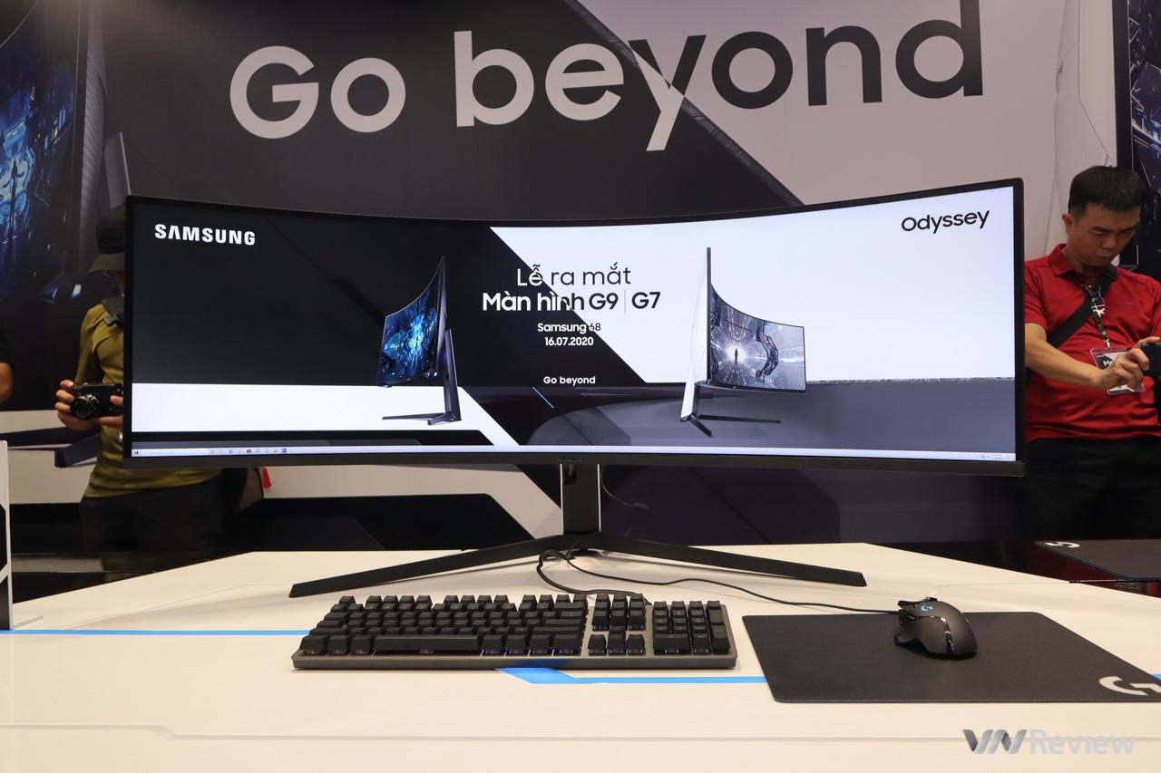"""Samsung đưa """"quái vật"""" màn hình gaming Odyssey G7 và G9 về Việt Nam: độ cong 1000R lớn nhất hiện nay, tần số quét 240Hz, giá tối đa 55,55 triệu đồng"""